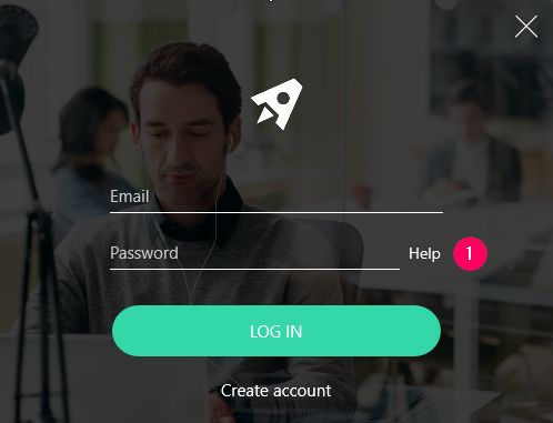 Reset password via your app
