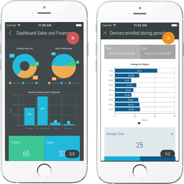 Add and edit charts Colors and options for diagrams Open as App